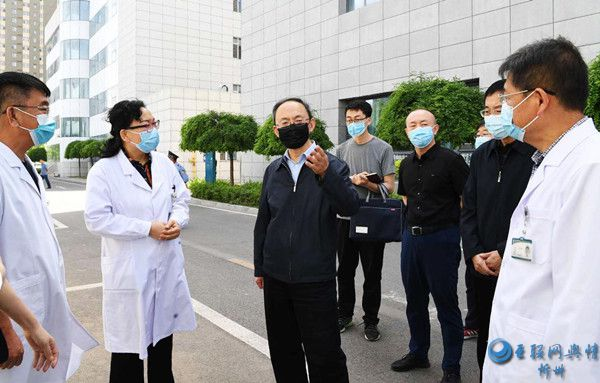 郑连生专题调研医疗废弃物处理工作