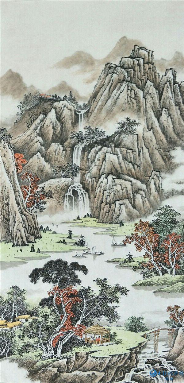 王兆吉:用时2年创作完成20米五百罗汉精品图