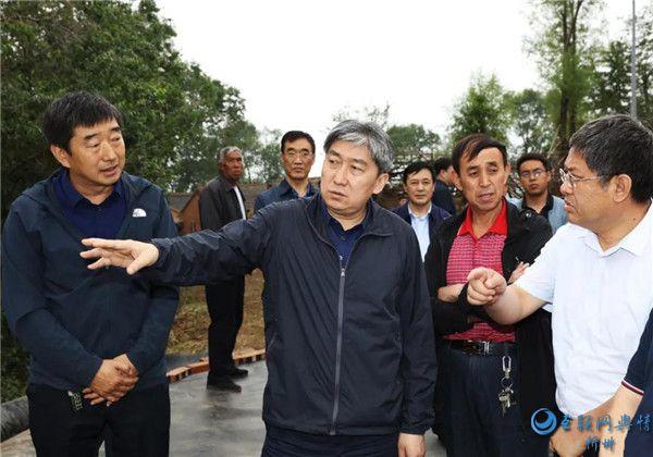 朱晓东在静乐县调研脱贫攻坚工作