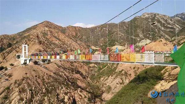 忻州也有玻璃桥了,快来禹王洞风景区