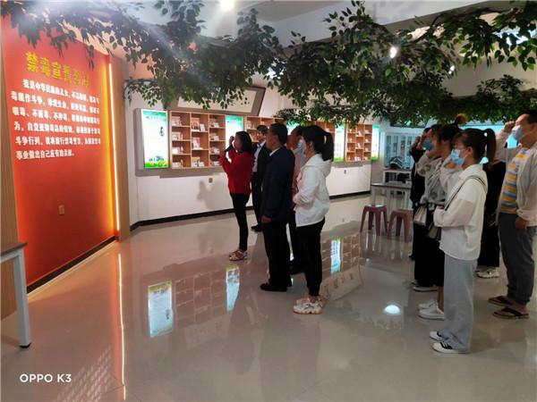 代县居民事务中心强化禁毒工作力度 着力净化社区环境