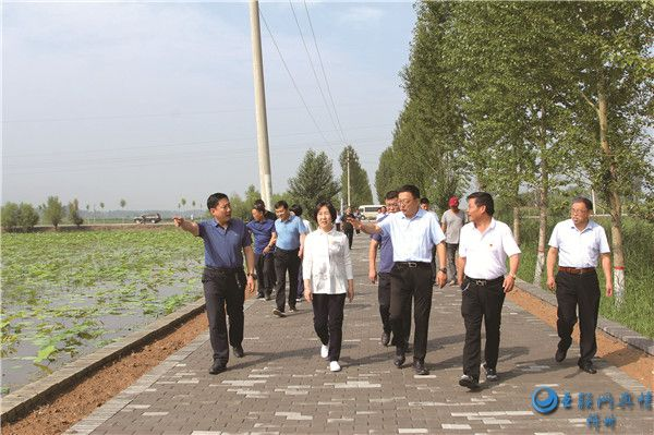 代县县长郝江陵调研重点项目建设情况