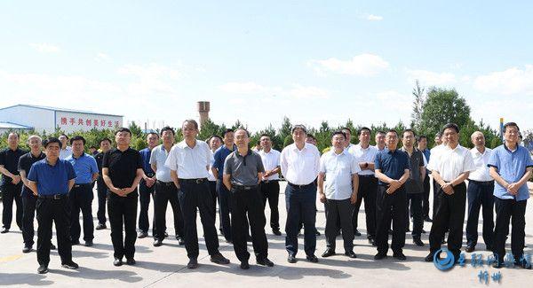 忻州市项目建设和重点工作观摩检查组在保德五寨观摩检查