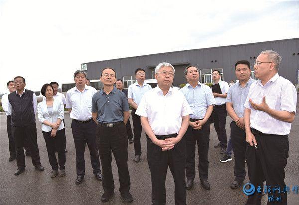 国务院扶贫办党组书记、主任刘永富在代县调研脱贫攻坚工作