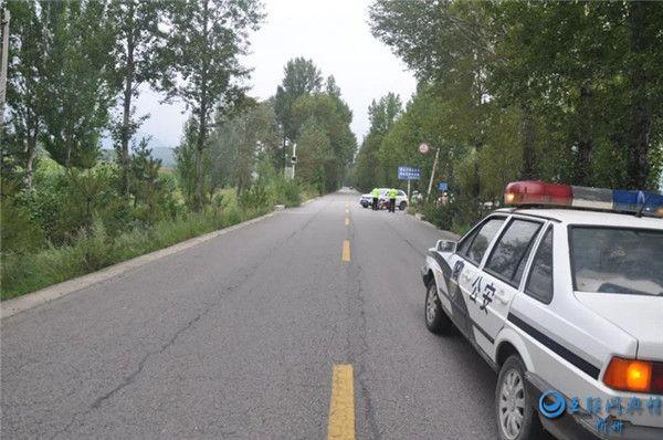 五台一男子驾乘摩托车未戴头盔 发生事故头部受伤