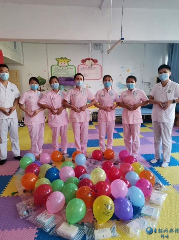 汝南县妇幼保健院开展助残公益活动