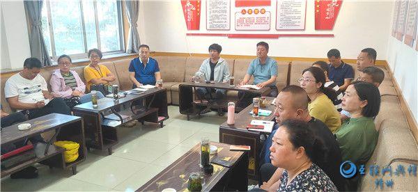 原平市道路运输服务中心组织党员、干部收看警示片《蒙尘的初心》