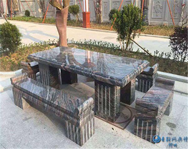 岢岚县建隆石材有限责任公司大理石成品展示图