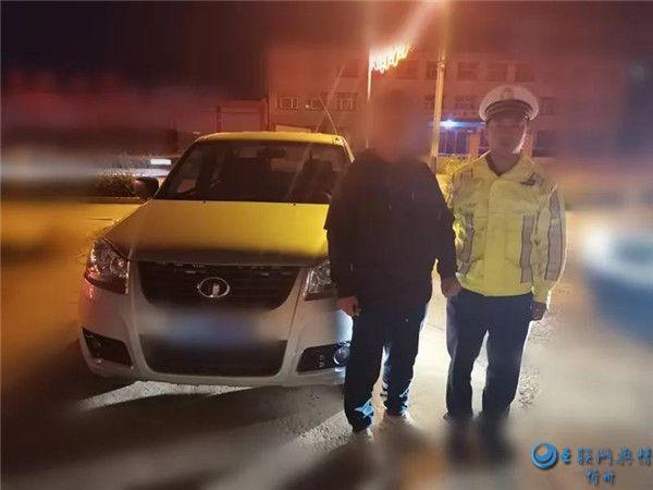 繁峙公安交警查处三起酒驾严重交通违法行为