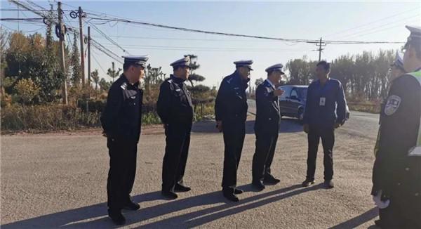 畅行中国 交警同行丨忻州交警 加强农村交管力度