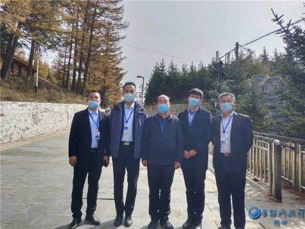 节前宁武县部署 节中市领导亲临 游览芦芽山体会稳稳的幸福