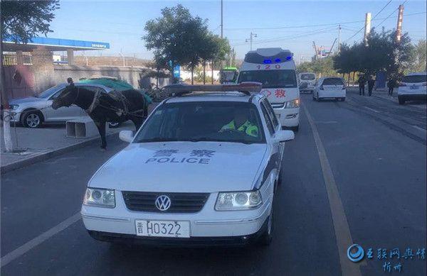 宁武交警:警医合作让伤者救援更及时