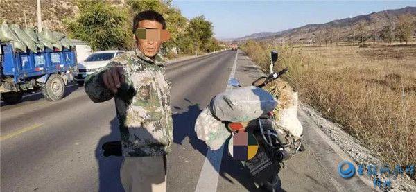 无证驾驶套牌摩托车 岢岚一男子被重罚