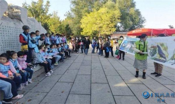 湖畔观鸟倡环保 志愿者团队公益活动获市民点赞