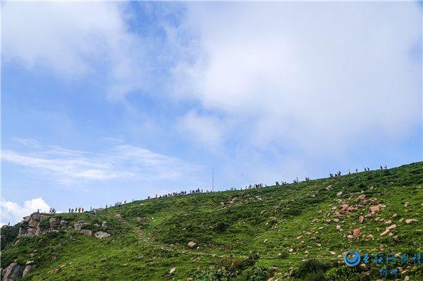 七八月芦芽山马伦草原凉爽宜人,风景秀丽,是夏季避暑首选目的地