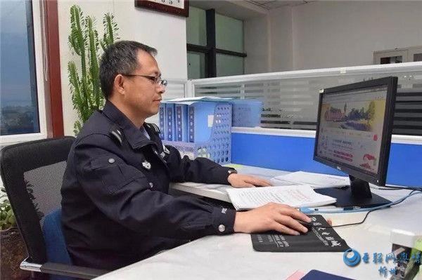 """定襄交警张国利荣获""""忻州市劳动模范""""荣誉称号"""