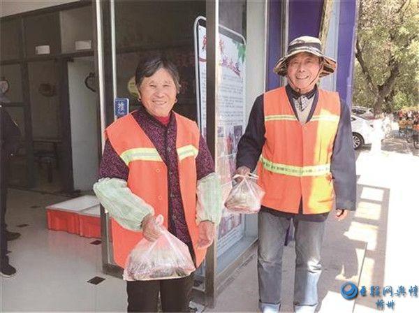 """睢宁""""环卫工人免费午餐""""公益活动彰显城市温度"""