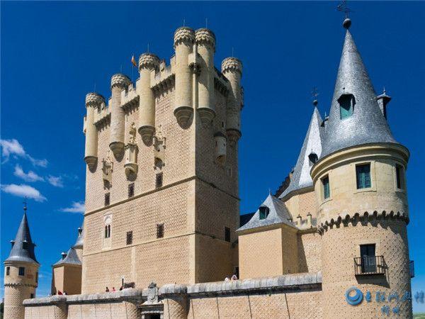 西班牙首都马德里建筑风景图片