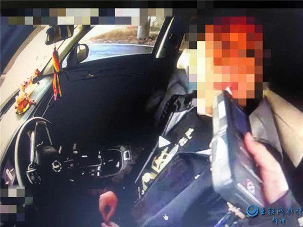 【五大曝光行动】定襄交警查获二起酒驾交通违法行为