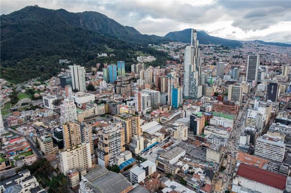 哥伦比亚圣菲波哥大建筑风景图片
