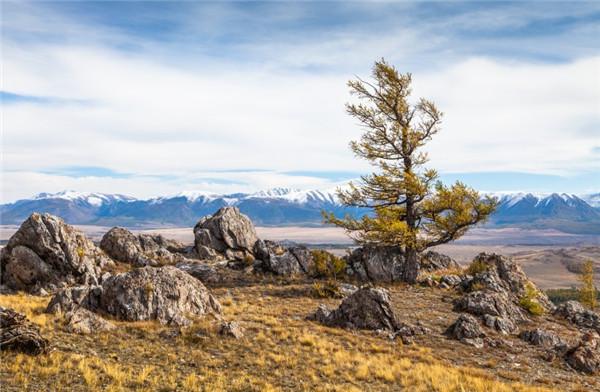 新疆阿尔泰山自然风景图片集