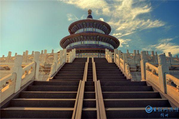 北京天坛建筑风景图片