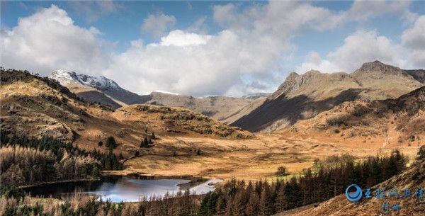 英国英格兰坎布里亚郡自然风景图片