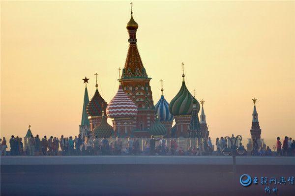 俄罗斯圣瓦西里大教堂建筑风景图片