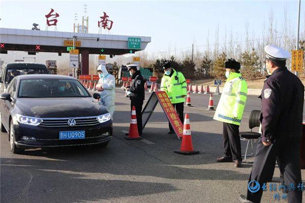 五台交警积极开展春运交通安全宣传活动