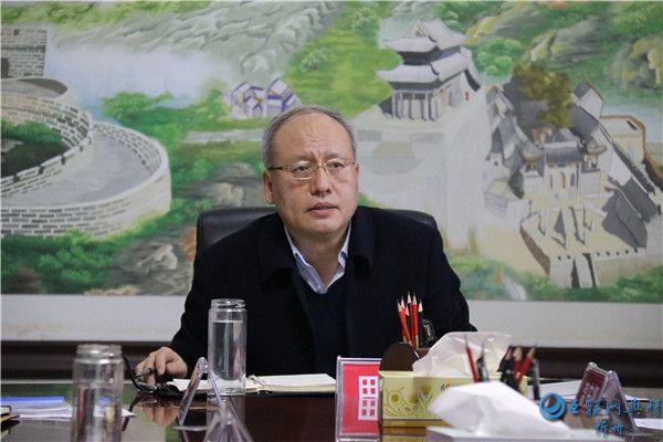 代县县委书记田永清主持召开国土工作专题会议