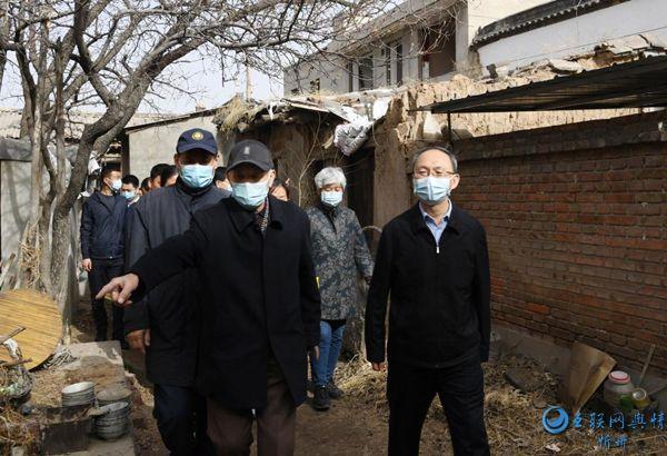郑连生调研忻州古城征迁和保护活化项目