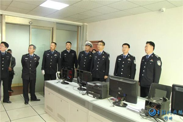 姚吉星深入保德县交警大队调研指导工作