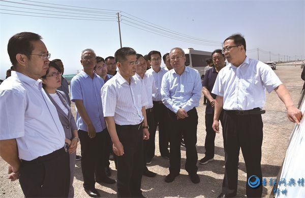 刘卓良在代县调研包联企业和项目建设情况