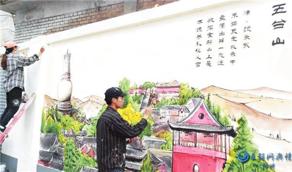 """""""会说话的墙壁"""":忻州市实验小学主题壁画令人耳目一新"""