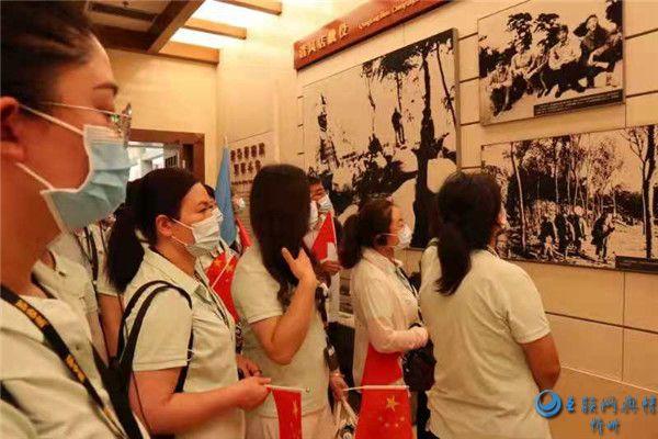 忻州市七一路小学党支部赴西柏坡开展主题党日活动
