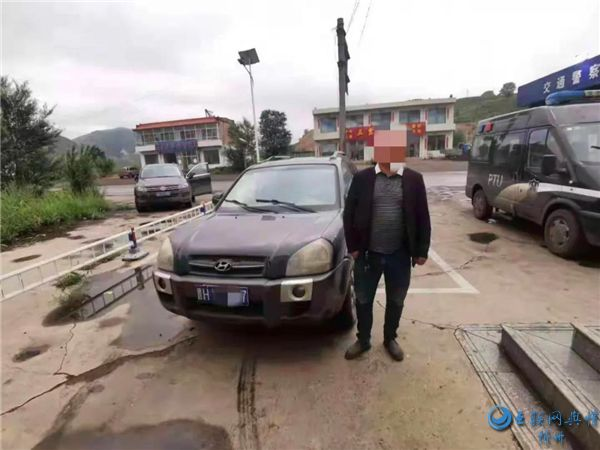 张冠李戴?忻州一男子套用车辆号牌被抓现行!