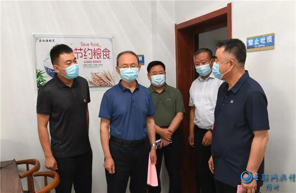 郑连生在忻府区调研社区养老、学前教育、疫情防控、文旅产业发展等工作