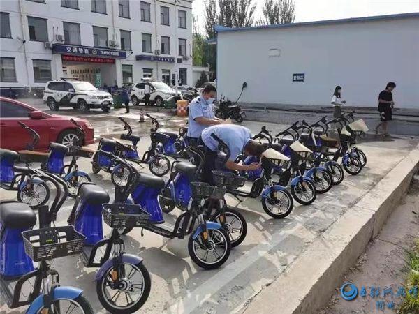 河曲交警主动联系共享单车企业开展注册登记服务