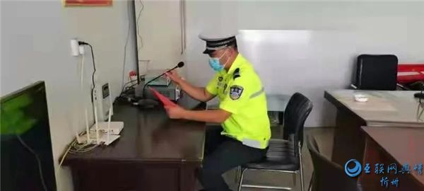"""原平交警进农村开展""""美丽乡村行""""交通安全宣传活动"""