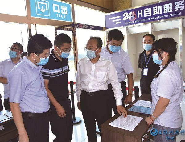 代县县委书记张生明一线督导新冠疫苗接种工作
