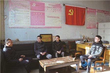 忻州市金融办副主任郎小林与山西证券相关领导一行在代县调研