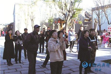 """代县文化和旅游局文艺表演精彩纷呈""""扮靓""""忻州古城"""