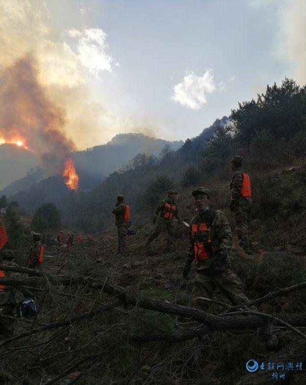 原平民兵:演练变实战,奔赴五台山抢险救火